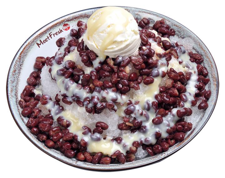 紅豆牛奶冰