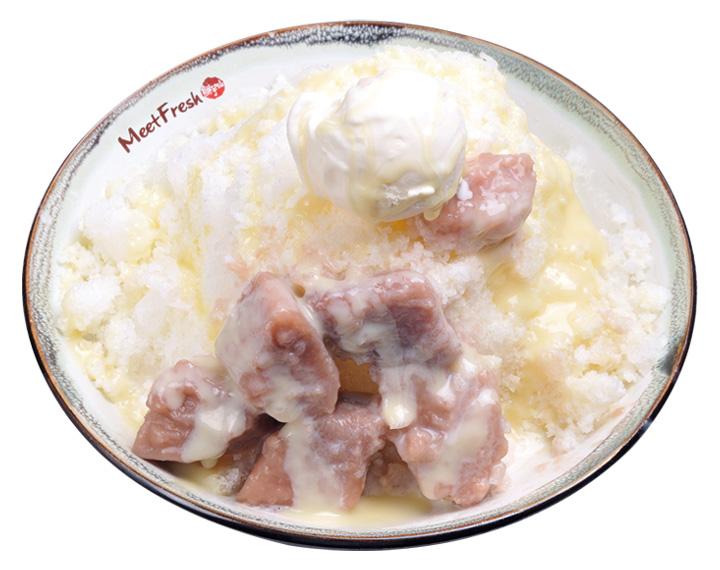 芋頭牛奶冰