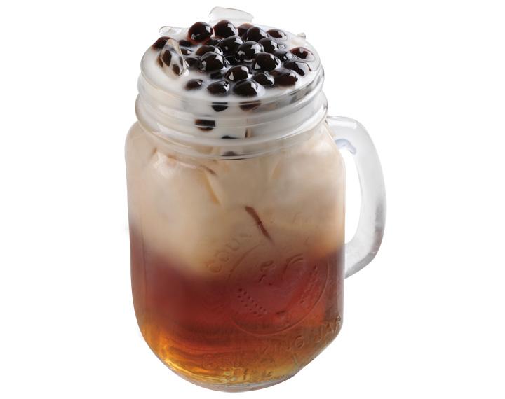 珍珠鮮奶茶(氷・温)
