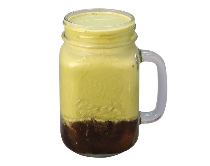 仙草抹茶鮮奶茶